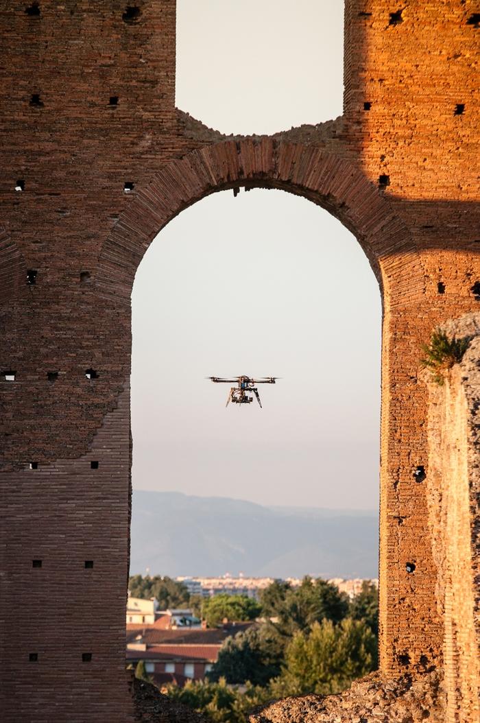 Rilievi aerei con droni