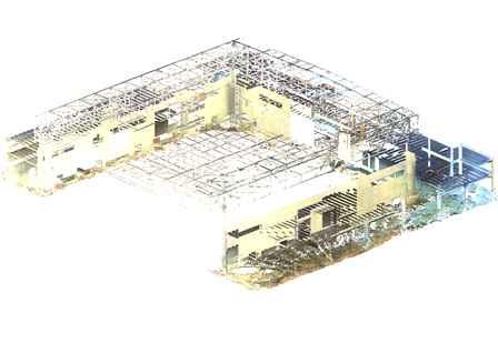 Rilievo delle strutture con laser scanner 3D